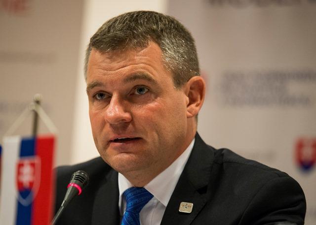Na snímke podpredseda vlády pre investície a informatizáciu SR Peter Pellegrini
