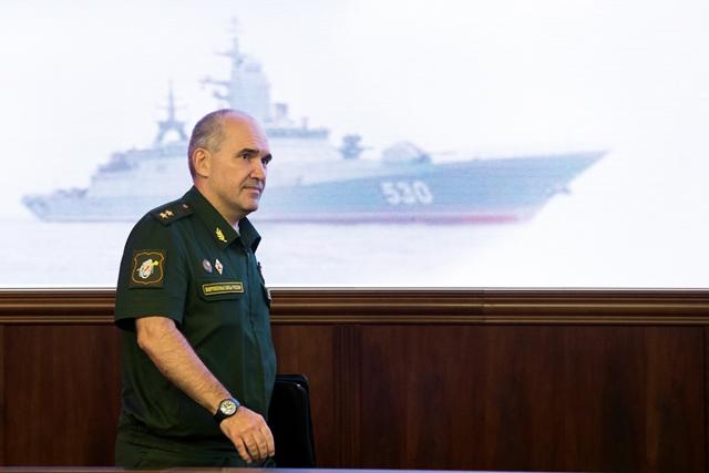 Na snímke Sergej Rudskoj
