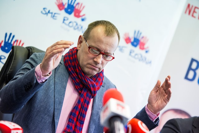 Na snímke predseda hnutia Sme rodina Boris Kollár