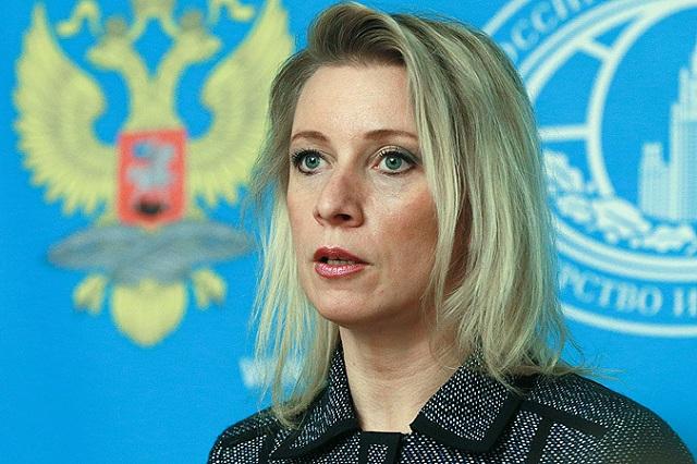 Hovorkyňe Ministerstva zahraničných vecí Ruskej federácie Mária Zacharovová