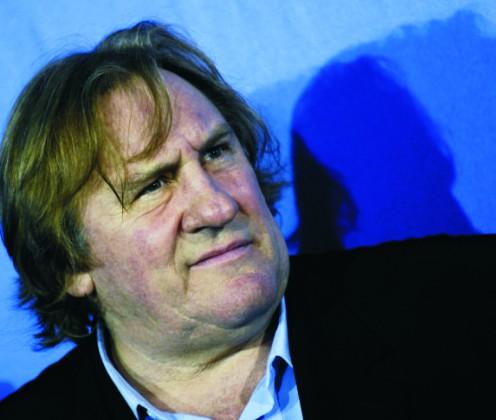 Na archívnej snímke francúzsky herec Gérard Depardieu