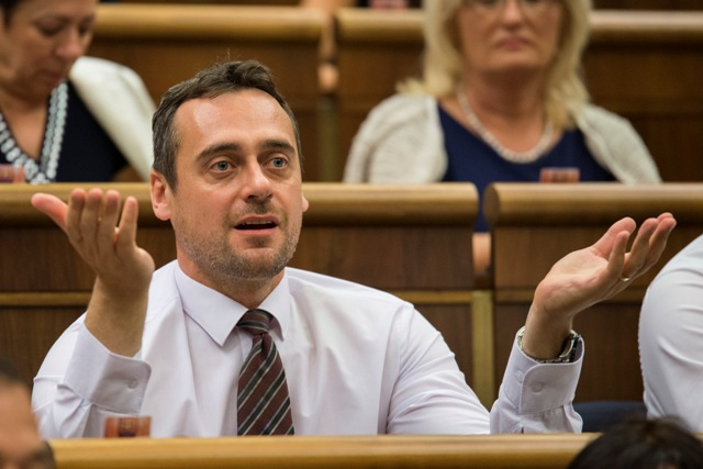 Na snímke poslanec NR SR Jozef Rajtár (SaS)