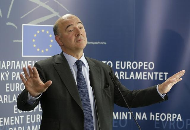 Eurokomisár pre hospodárske a menové záležitosti, dane a colnú úniu Pierre Moscovici