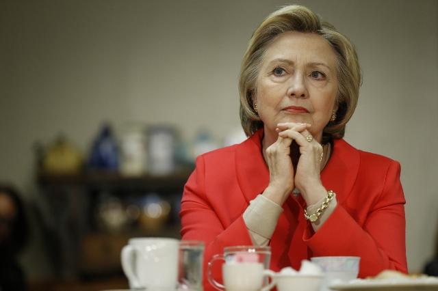 Na snímke kandidátka demokratov na prezidenta USA Hillary Clintonová Foto: Matt Rourke