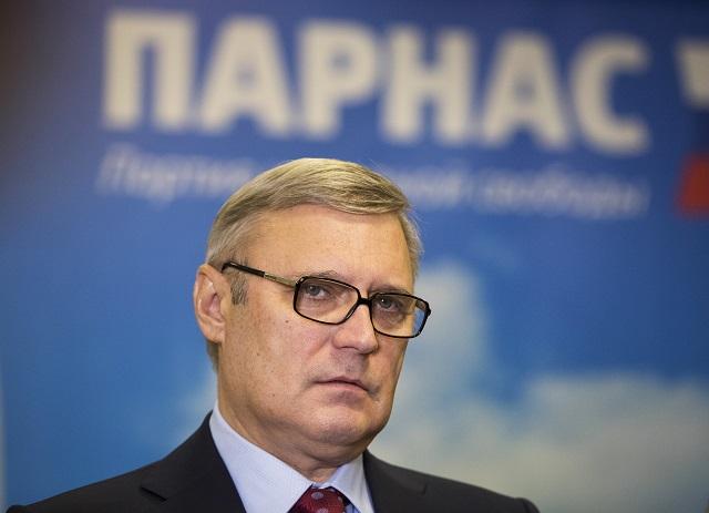Líder ruskej opozičnej Strany ľudovej slobody (PARNAS) Michail Kasianov