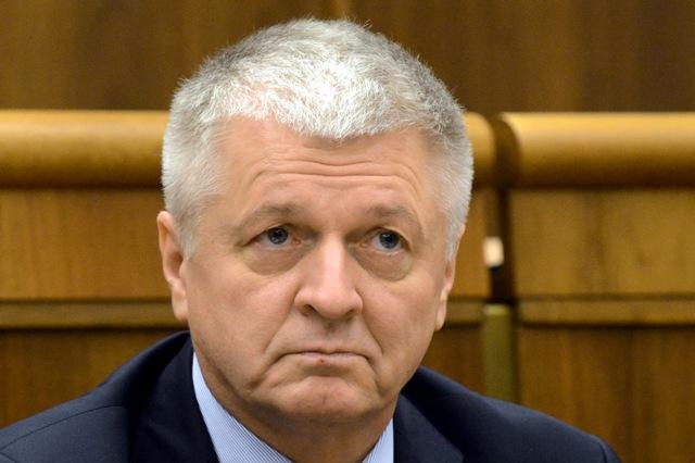 Na snímke exminister hospodárstva Pavol Pavlis