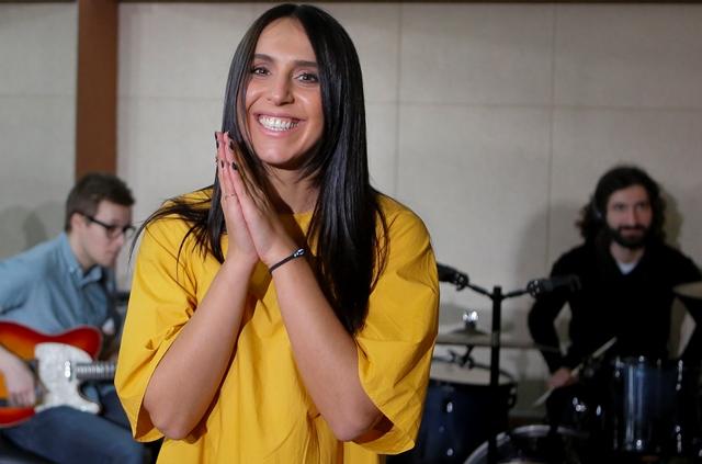 Na snímke ukrajinská speváčka Džamala