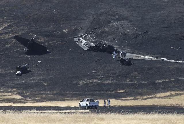 V štáte Kalifornia sa zrútilo špionážne lietadlo U-2