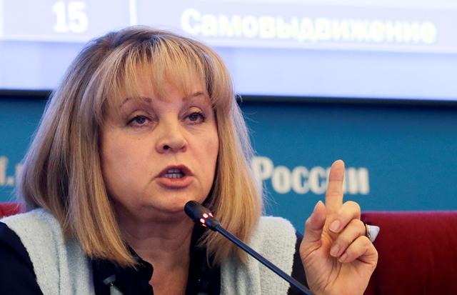 Predsedníčka ruskej Ústrednej volebnej komisie (ÚVK) Ella Pamfilovová