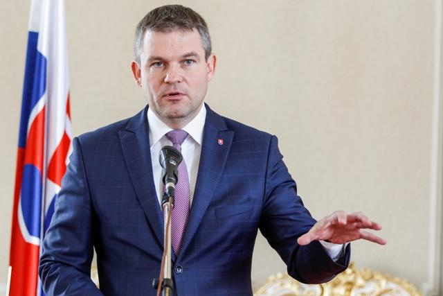 Na snímke podpredseda vládneho Smeru-SD Peter Pellegrini