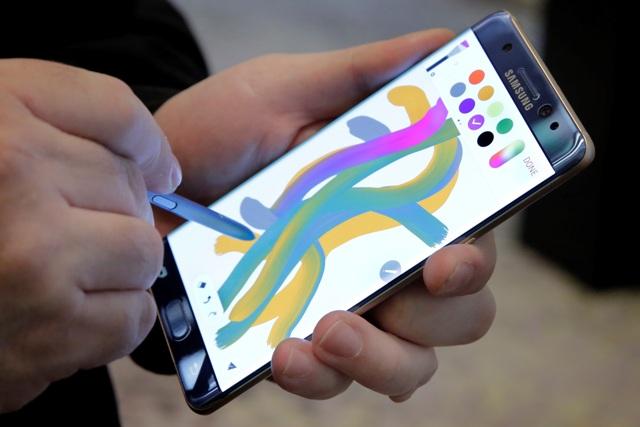Na snímke smartfón Galaxy Note 7
