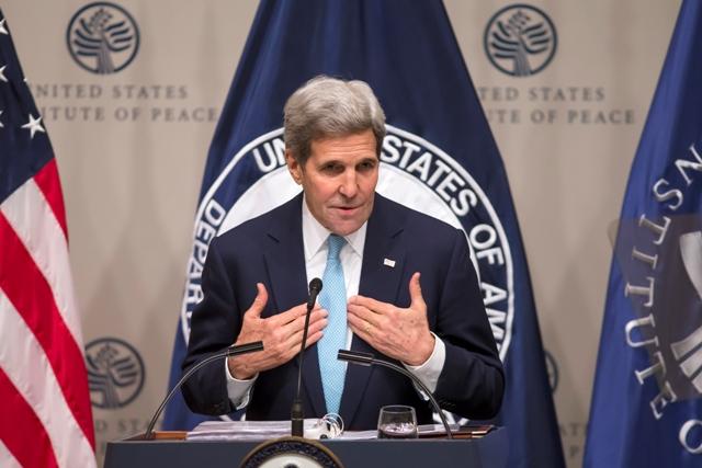 Na snímke americký minister zahraničných vecí John Kerry Foto:TASR/AP-J. Scott Applewhite