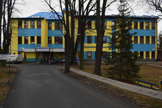 Na snímke budova Nemocnice Dr. Vojtecha Alexandra v Kežmarku