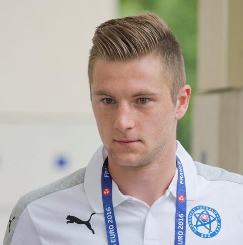 Na snímke slovenský reprezentant Milan Škriniar