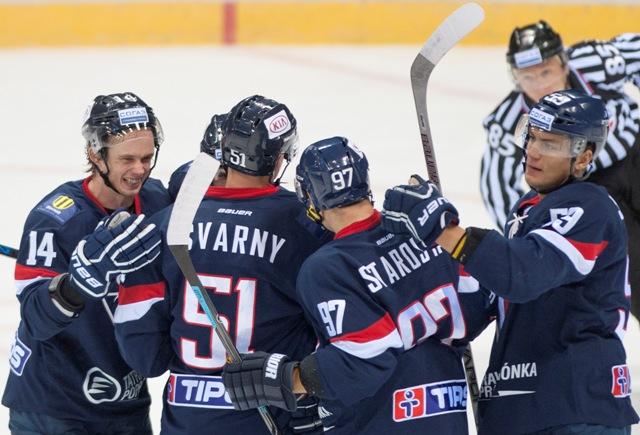 Ilustračné foto: Hokejisti HC Slovan Bratislava