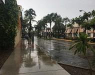 Exkluzívne zábery z Miami Beach pár hodín pred príchodom hurikánu Matthew