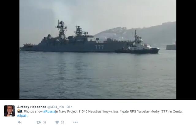 Ruská fregata