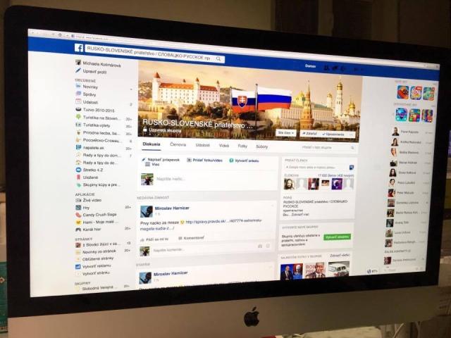 O tom, že Slováci majú k Rusom blízko, svedčia aj mnohé facebookové skupiny a komunity