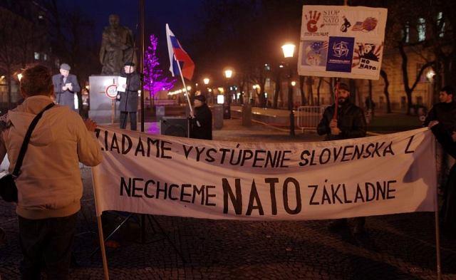 Prvé jesenné protestné zhromaždenie proti základniam NATO už vo štvrtok 20. októbra 2016