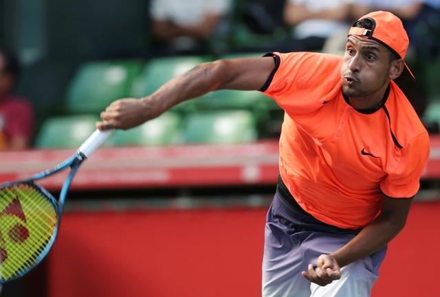 Na snímke austrálsky tenista Nick Kyrgios