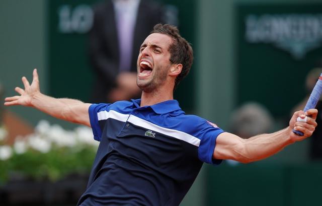 Na snímke španielsky tenista Alberto Ramos