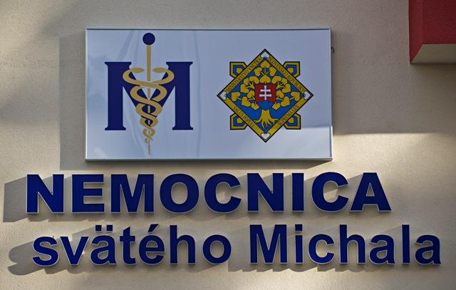Na snímke sídlo Nemocnice sv. Michala v Bratislave