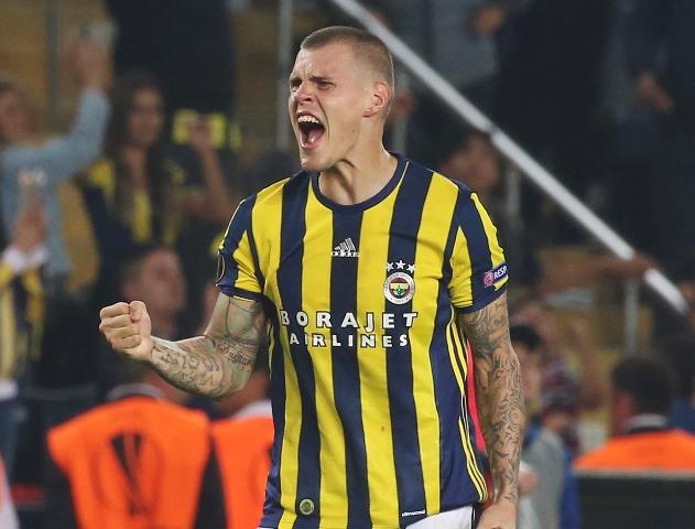 Na snímke slovenský hráč Fenerbahce Istanbulu Martin Škrtel