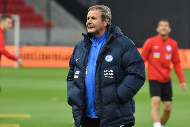 Na snímke tréner reprezentácie SR Ján Kozák