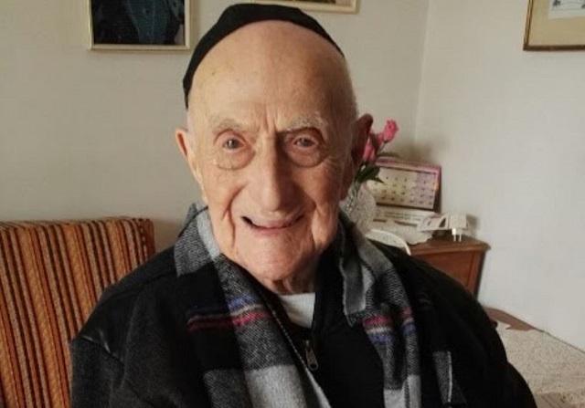 Najstarší muž na svete, 113-ročný Jisrael Kristal