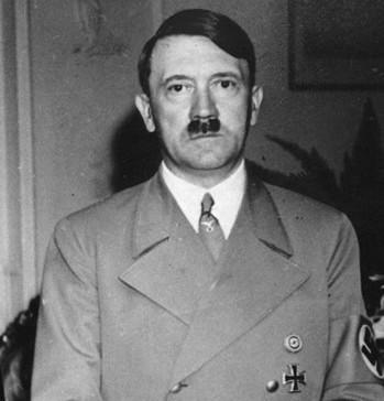 Na snímke Adolf Hitler