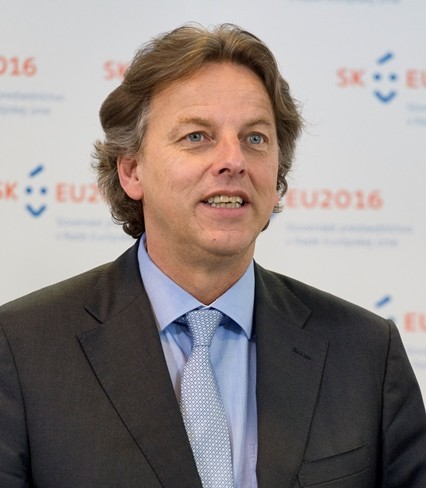 Na snímke holandský minister zahraničných vecí Bert Koenders