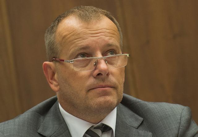 Na snímke poslanec Národnej rady SR (NR SR) Boris Kollár (Sme rodina)