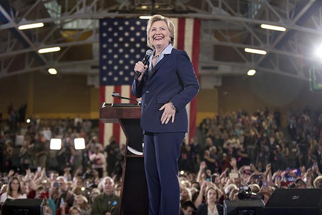 Demokratická kandidátka na úrad amerického prezidenta Hillary Clintonová