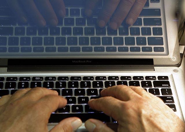 klávesnica, ilustračka, počítač, laptop