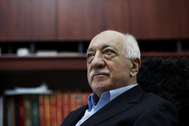 Na snímke Fethullah Gülen
