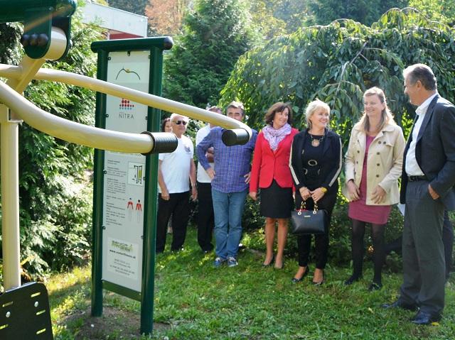 Spomedzi tria finalistov, sa stala víťazom súťaže Nitra s projektom Fit Parku