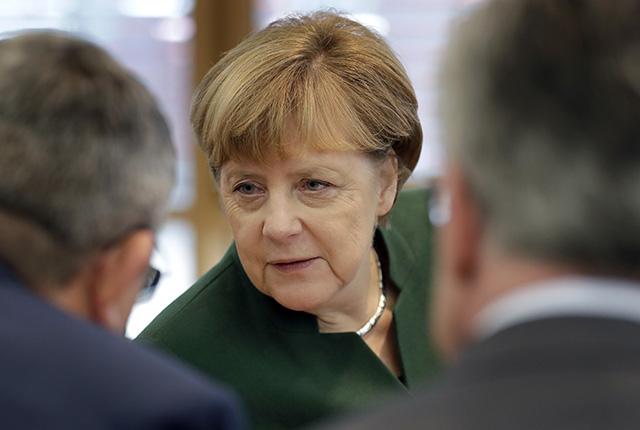 Nemecká kancelárka a líderka Kresťanskodemokratickej únie (CDU) Angela Merkelová