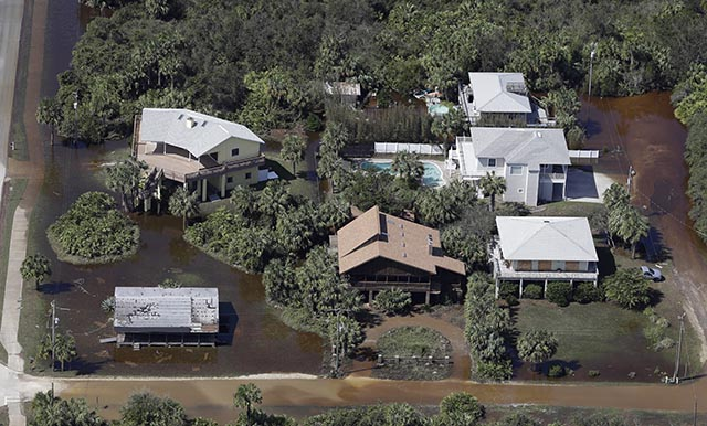 hurikán Mattew na Floride