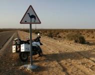 Na snímke motorka počas prestávky
