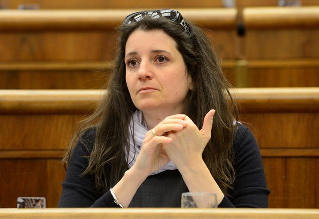 Na snímke Jana Žitňanská