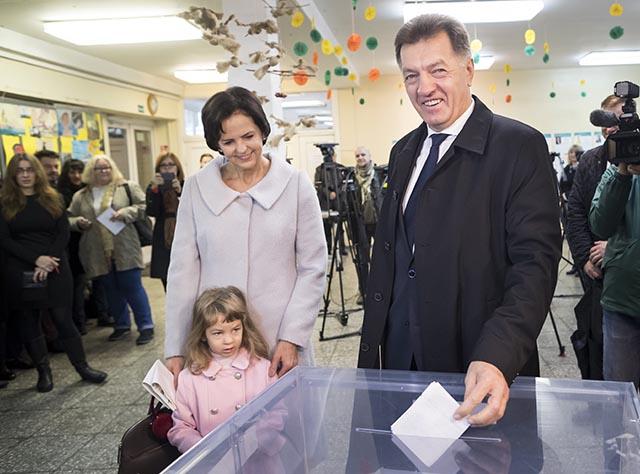 1. kolo parlamentných volieb v Litve