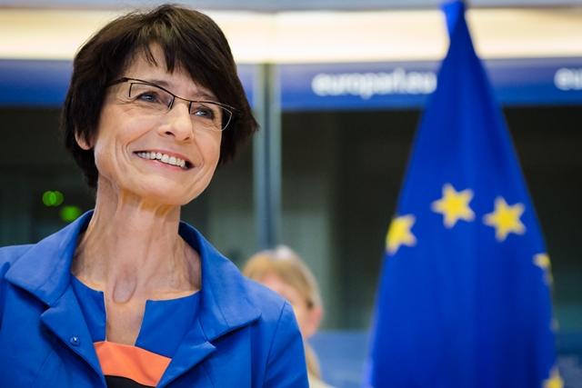 Na snímke Marianne Thyssenová