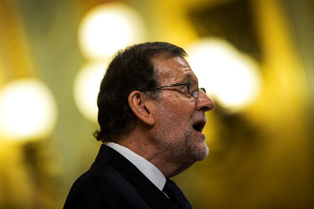 Na snímke premiér Mariano Rajoy