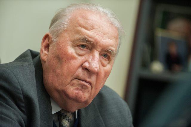 Na snímke prvý prezident Slovenskej republiky Michal Kováč