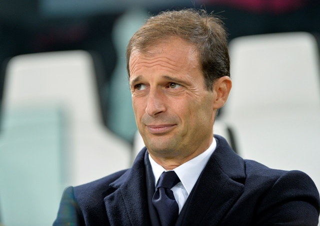 Na snímke réner Juventusu Massimiliano Allegri