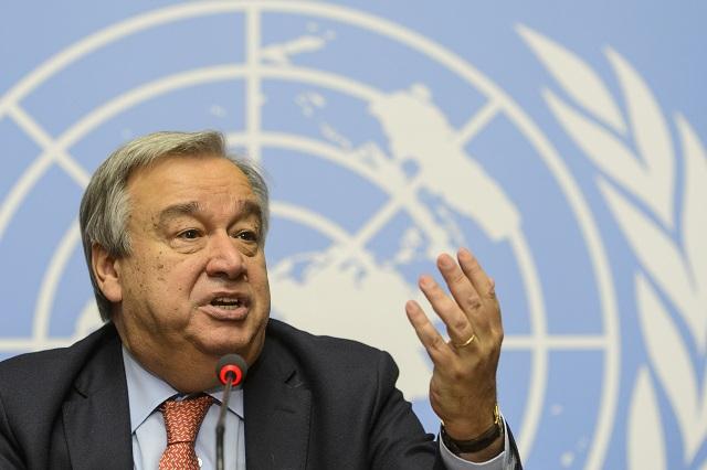 BR OSN oficiálne navrhla Antónia Guterresa za nového generálneho tajomníka