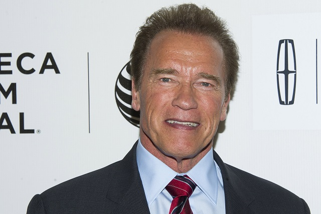 Americký herec Arnold Schwarzenegger