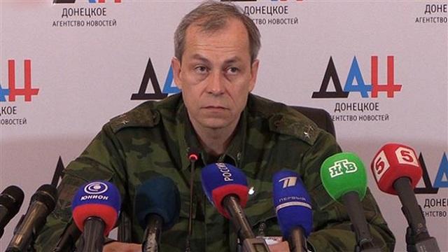 Hlavný predstaviteľ operatívneho velenia DNR Eduard Basurin