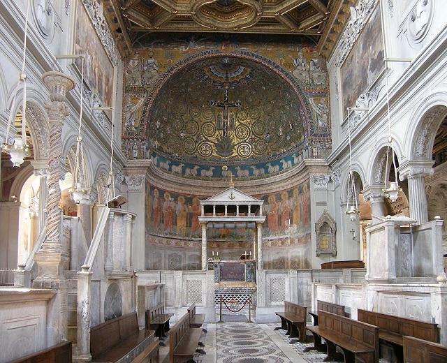Bazilika San Clemente v Ríme, s pozostatkami svätého Ignáca