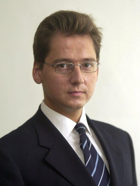 Na snímke z roku 2003 Viktor Béreš